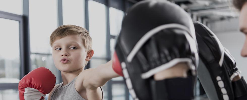 coach enfant boxe